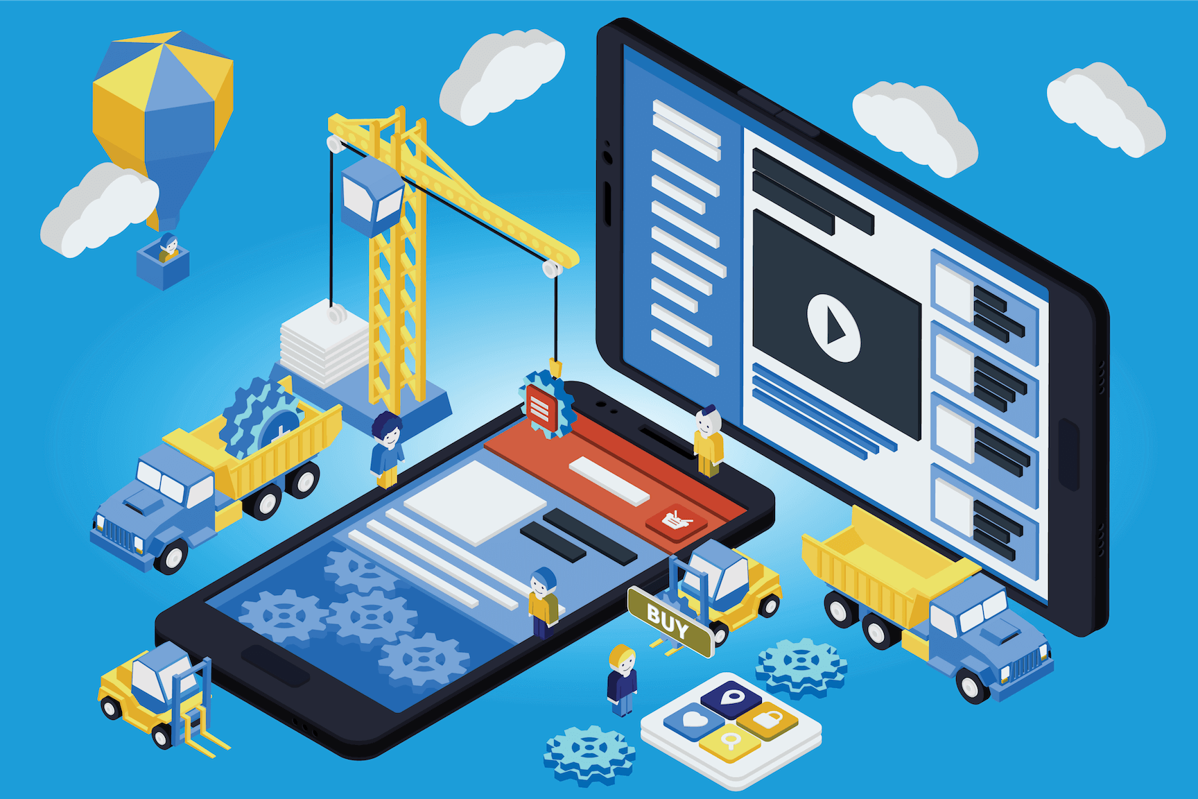 Top 10 Platforms To Create Your Online Service App Without Coding